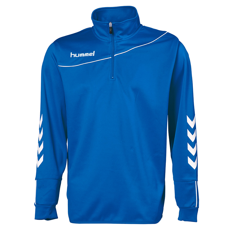 Hummel Sweat Demi-Zip Corporate - Royal