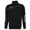 Hummel Sweat Demi-Zip Corporate - Noir