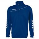 Hummel Sweat Demi-Zip Corporate - Marine