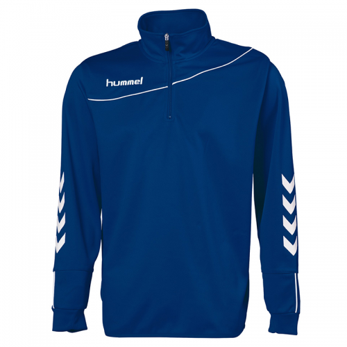 Hummel Sweat Demi-Zip Corporate - Marine