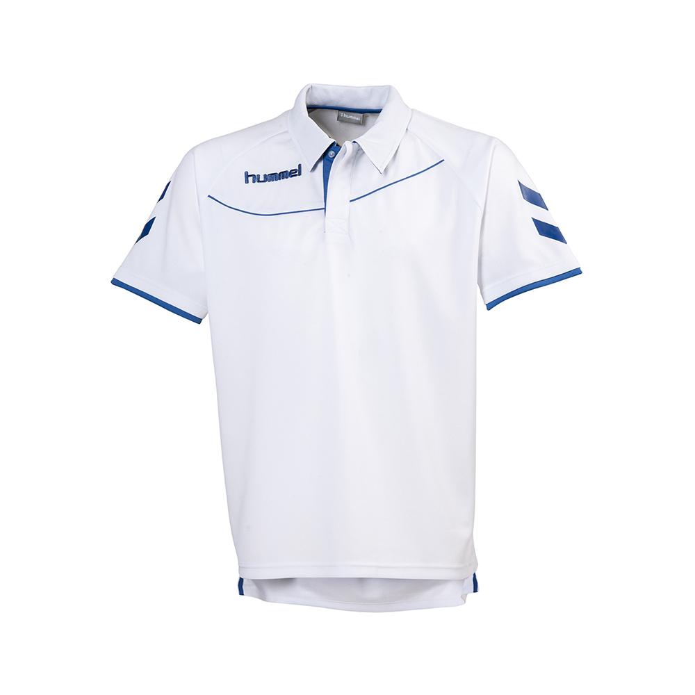 Hummel Polo Corporate - Blanc & Royal