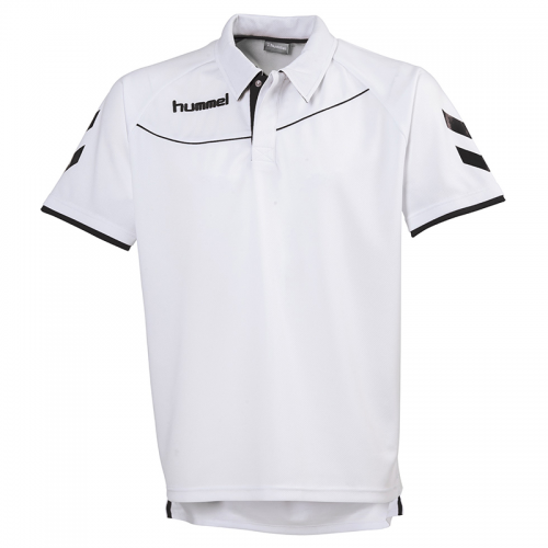 Hummel Polo Corporate - Blanc & Noir
