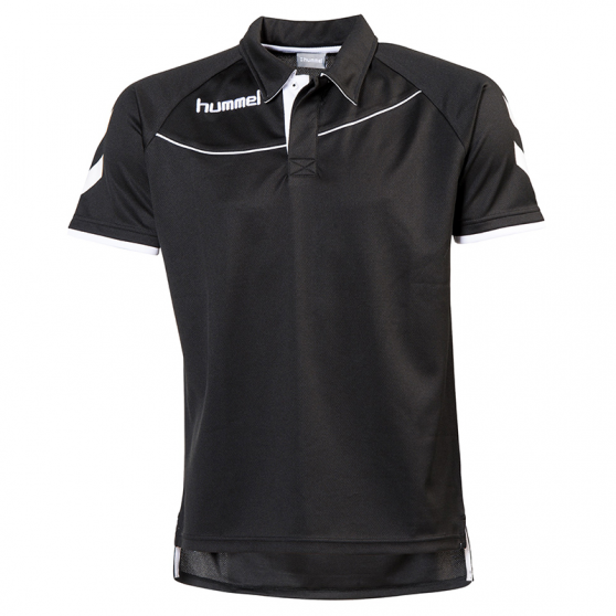 Hummel Polo Corporate - Noir & Blanc