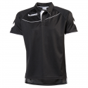 Hummel Polo Corporate - Noir & Blanc
