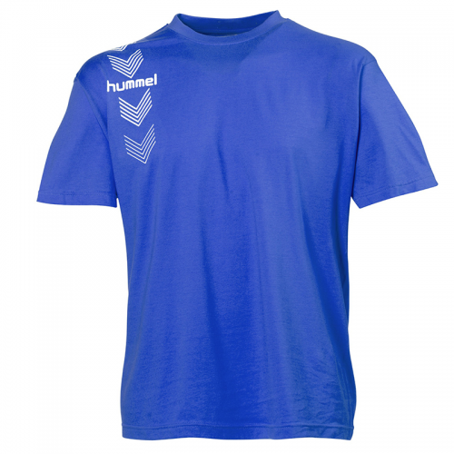 Hummel Stripe Tee - Royal