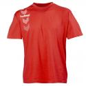 Hummel Stripe Tee - Rouge