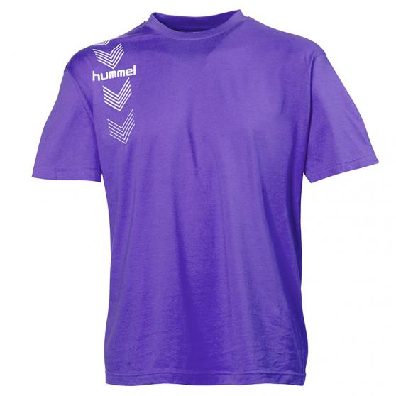 Hummel Stripe Tee - Violet
