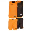 Spalding Double Face Kid Set - Orange & Noir