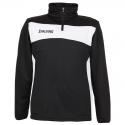 Spalding Evolution II 1/4 Zip Top - Noir & Blanc