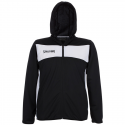 Spalding Evolution II Hooded Classic Jacket - Noir & Blanc