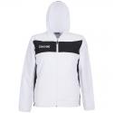 Spalding Evolution II Hooded Woven Jacket - Blanc & Noir