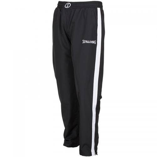 Spalding Evolution II Woven Pants - Noir & Blanc