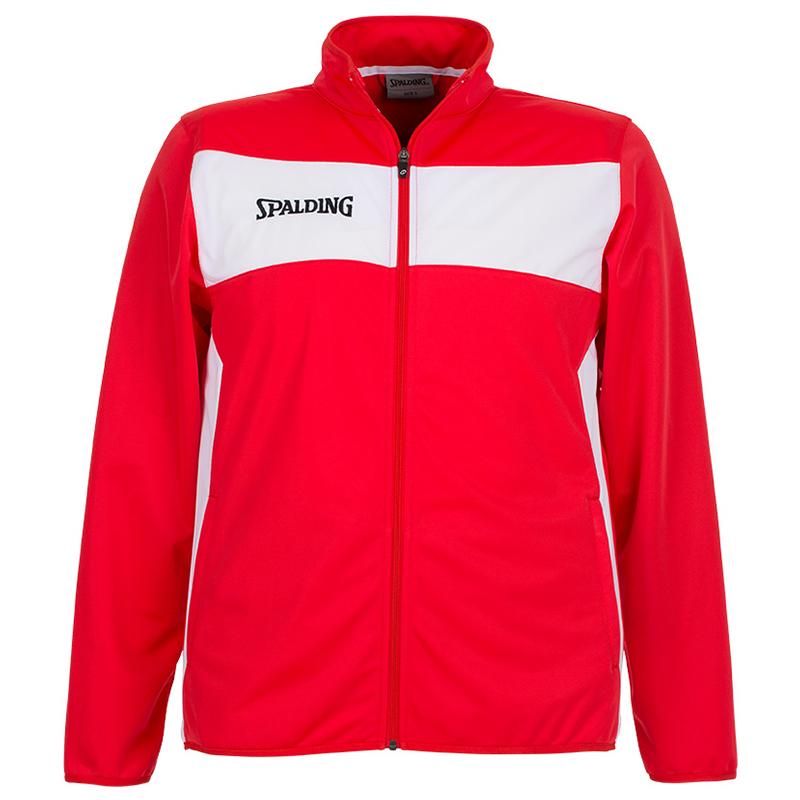 Spalding Evolution II Classic Jacket - Rouge & Blanc