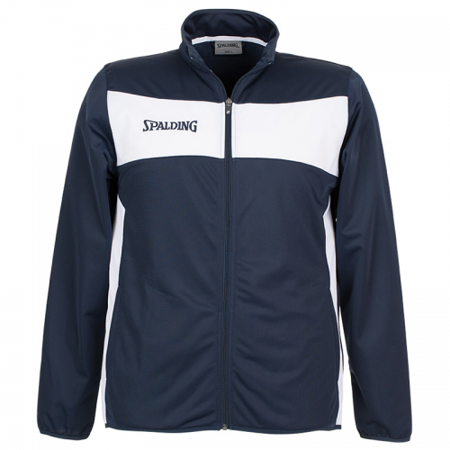 Spalding Evolution II Classic Jacket - Navy & Blanc