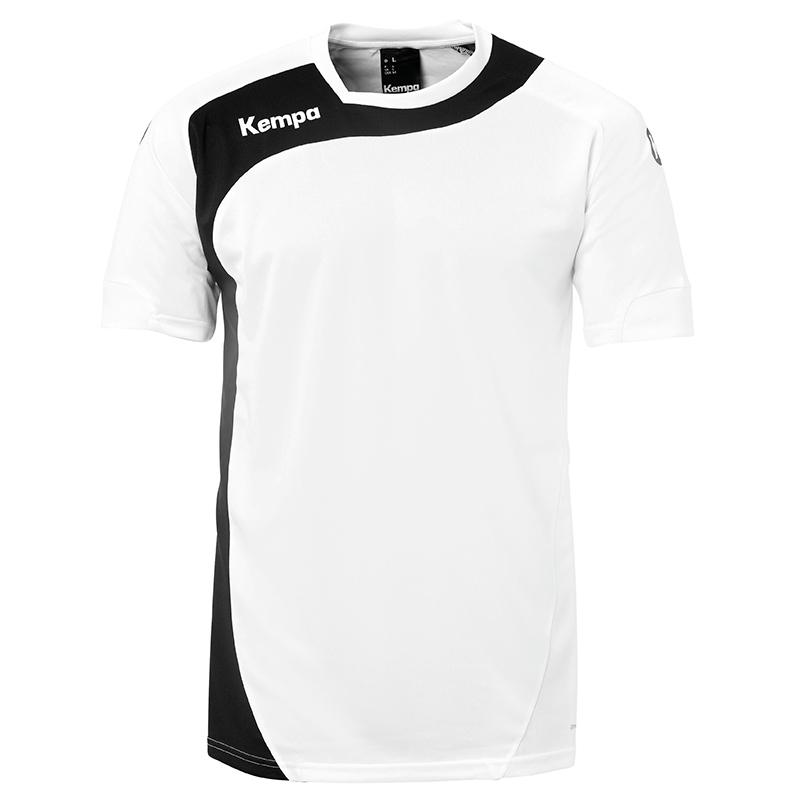 Kempa Peak Shirt - Blanc & Noir