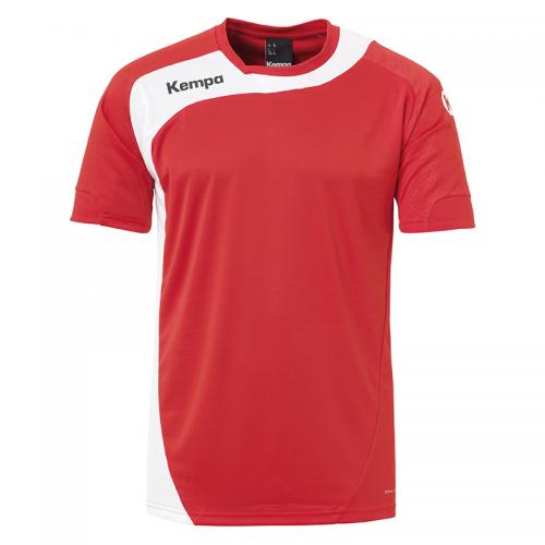 Kempa Peak Shirt - Rouge & Blanc