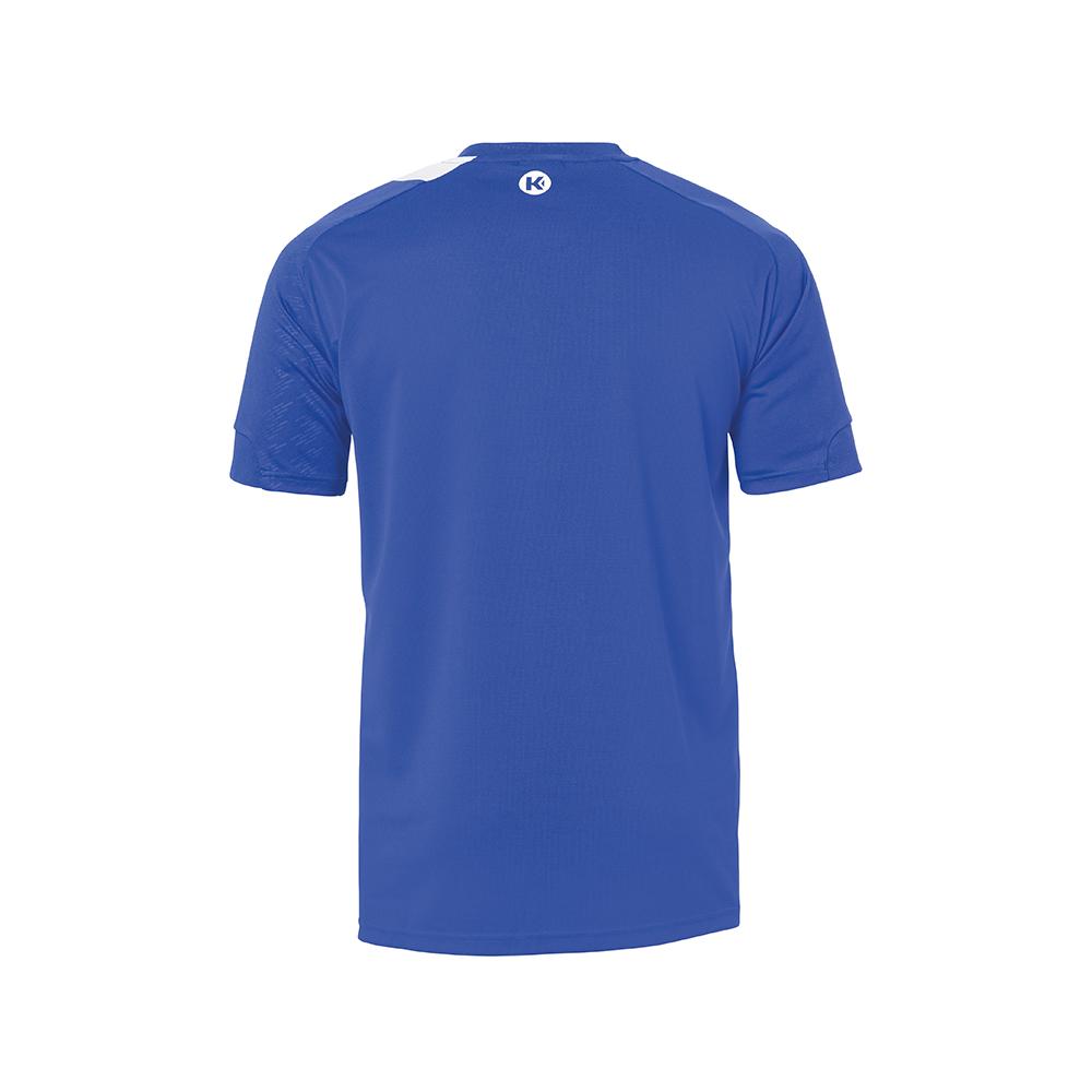 Kempa Peak Shirt - Royal & Blanc