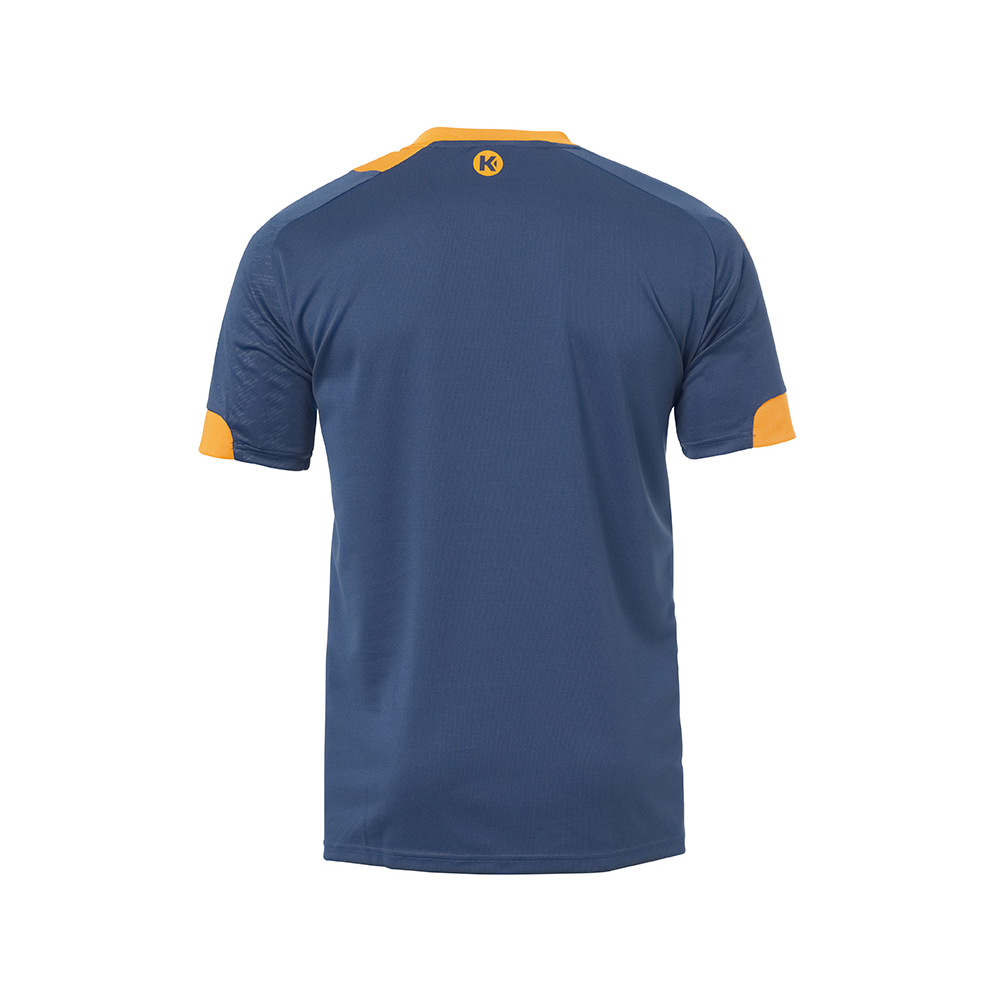 Kempa Peak Shirt - Pétrole & Orange