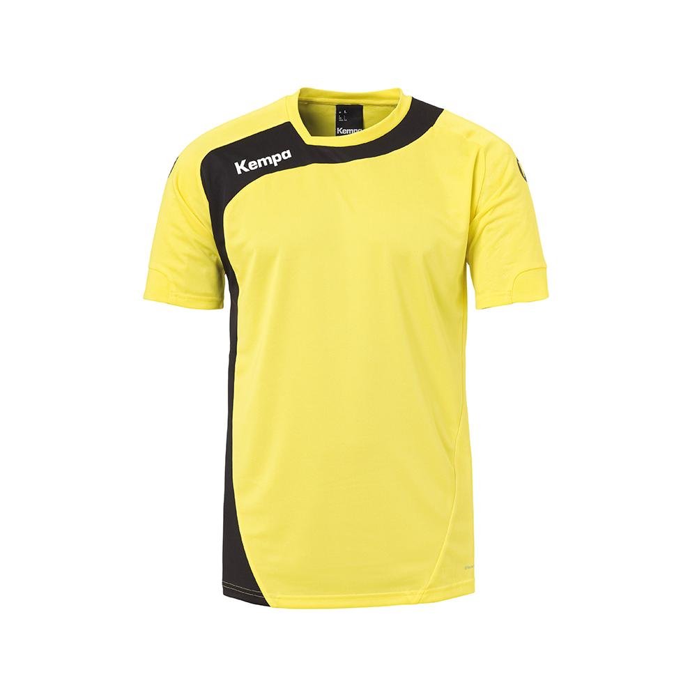 Kempa Peak Shirt - Jaune & Noir