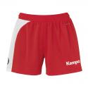 Kempa Peak Short Women - Rouge & Blanc