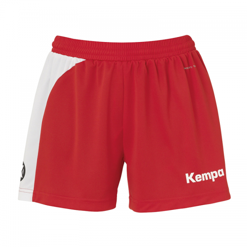 Kempa Peak Short Women - Rouge & Blanc