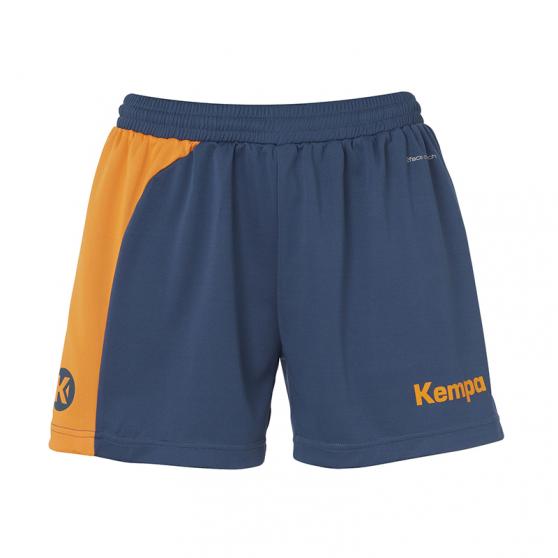 Kempa Peak Short Women - Pétrole & Orange