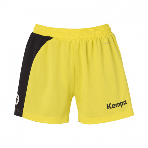 Kempa Peak Short Women - Jaune & Noir