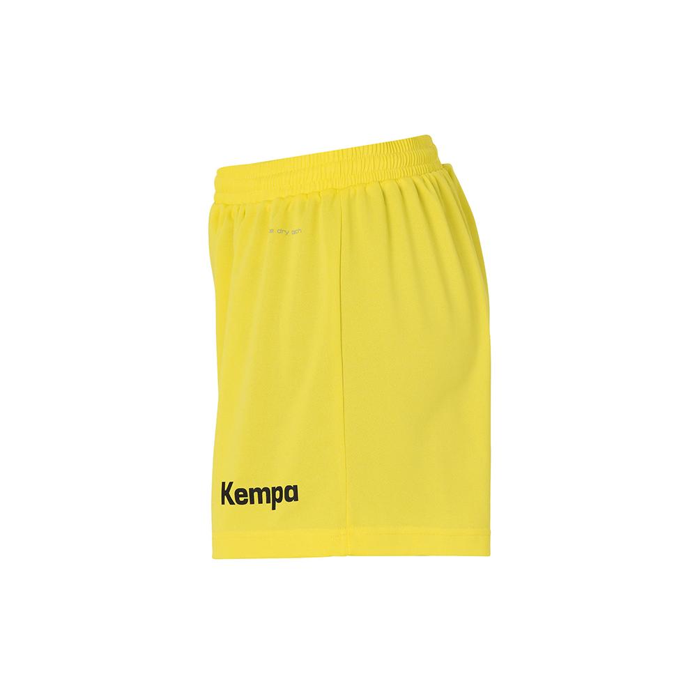 Kempa Peak Short Women - Jaune & Noir