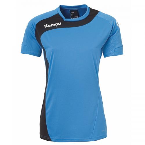 Kempa Peak Shirt Women - Bleu Kempa