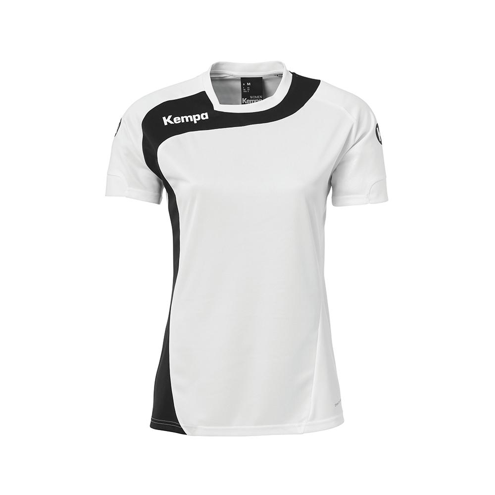 Kempa Peak Shirt Women - Blanc & Noir