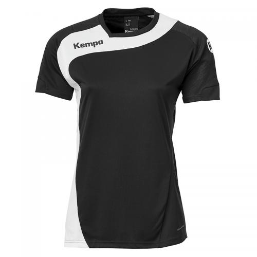 Kempa Peak Shirt Women - Noir & Blanc