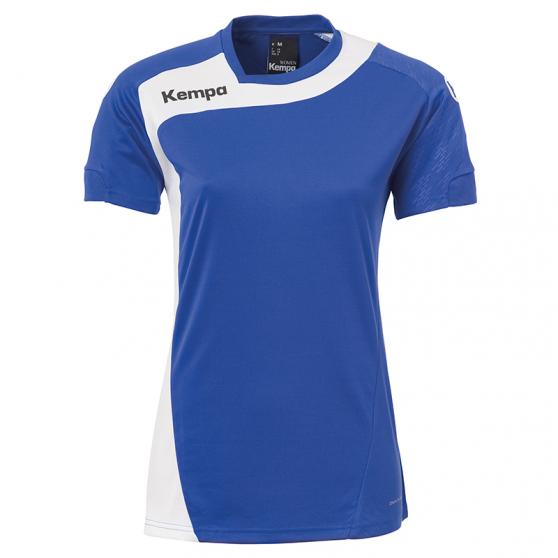 Kempa Peak Shirt Women - Royal & Blanc