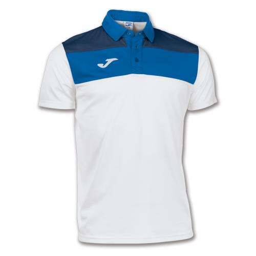 Joma Crew Polo Dry MX - Blanc & Bleu