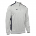 Joma Campus II 1/4 Zip - Gris Chiné
