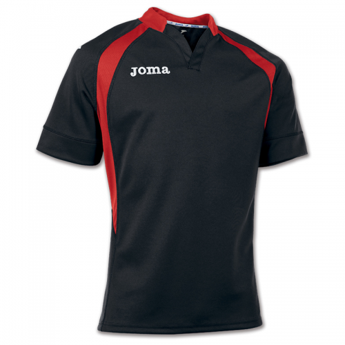 Joma ProRugby Maillot - Noir & Rouge