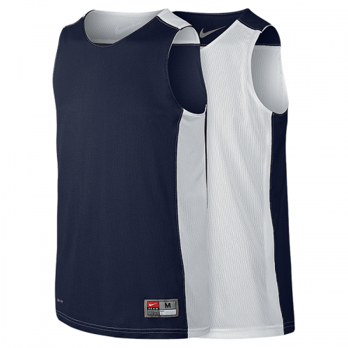 Nike League Reversible Tank - Navy & Blanc
