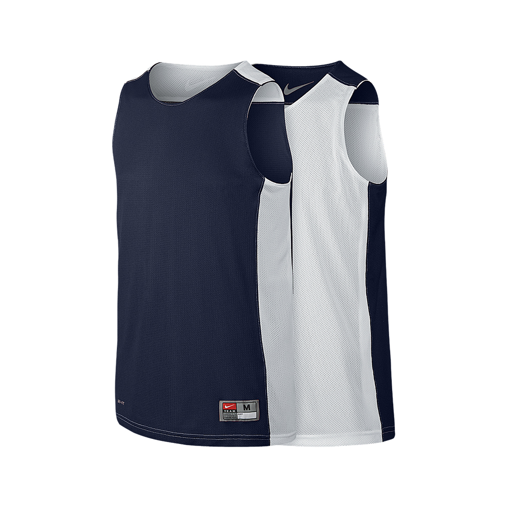 Nike League Reversible Tank - Navy & Blanc