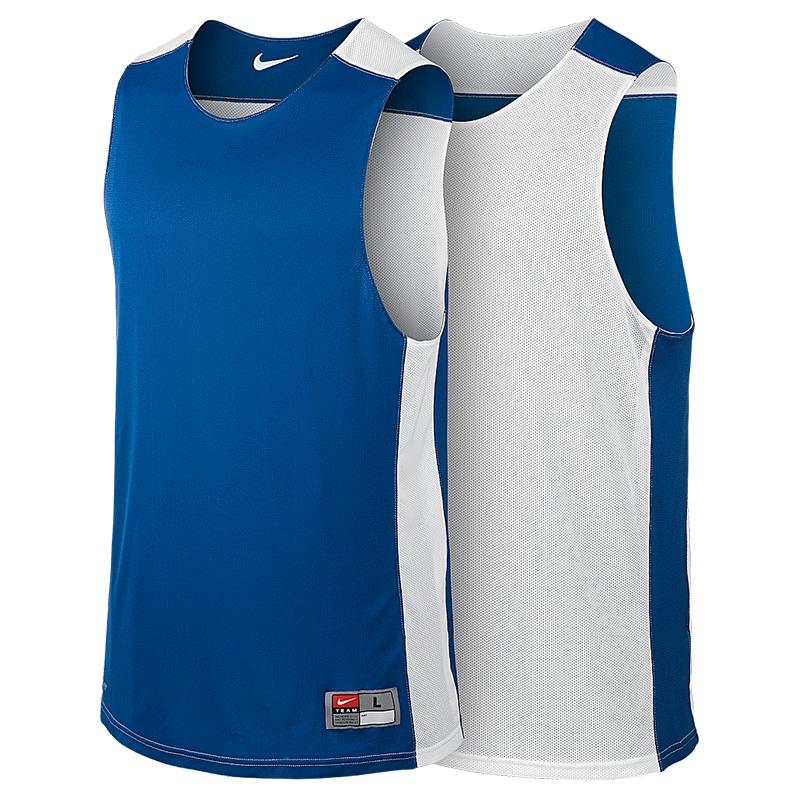 Nike League Reversible Tank - Royal & Blanc