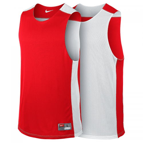Nike League Reversible Tank - Rouge & Blanc