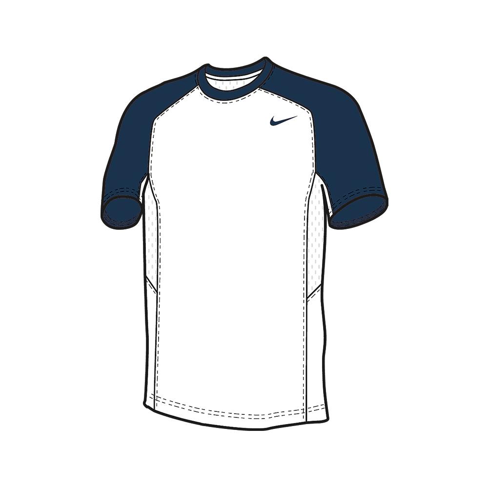 Nike Elite Shooter MC - Navy & Blanc