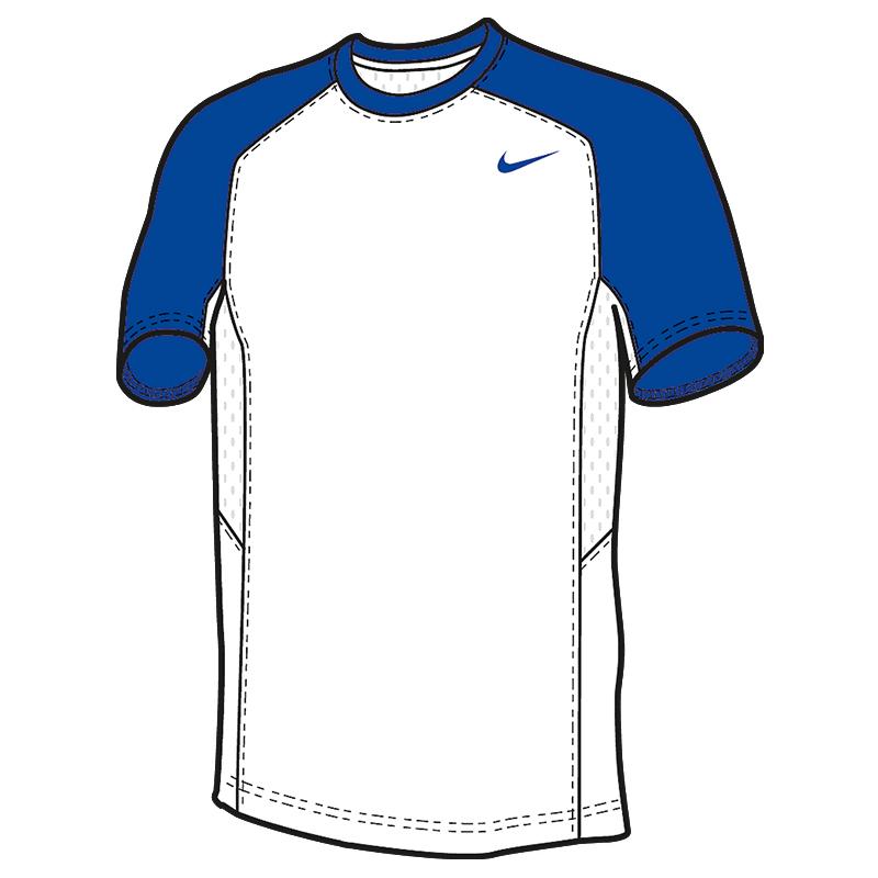 Nike Elite Shooter MC - Royal & Blanc