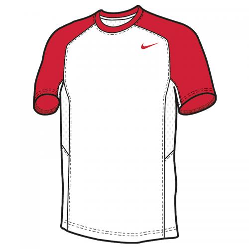 Nike Elite Shooter MC - Rouge & Blanc