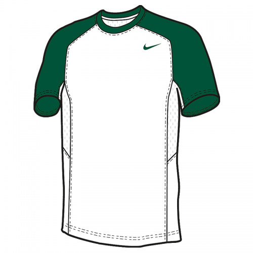 Nike Elite Shooter MC - Vert & Blanc