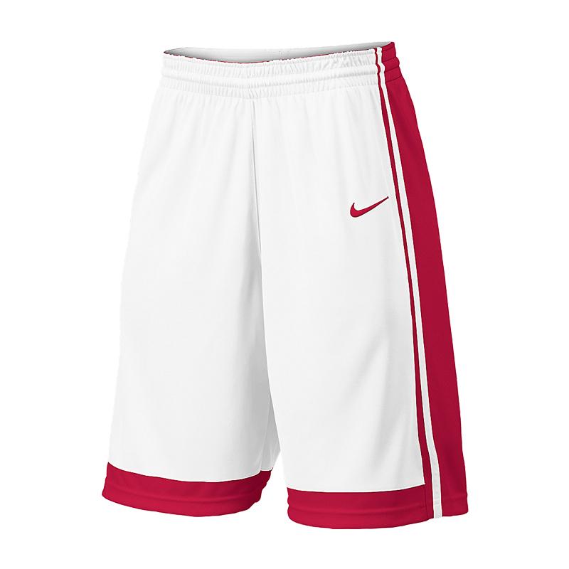 Nike National Short - Blanc & Rouge