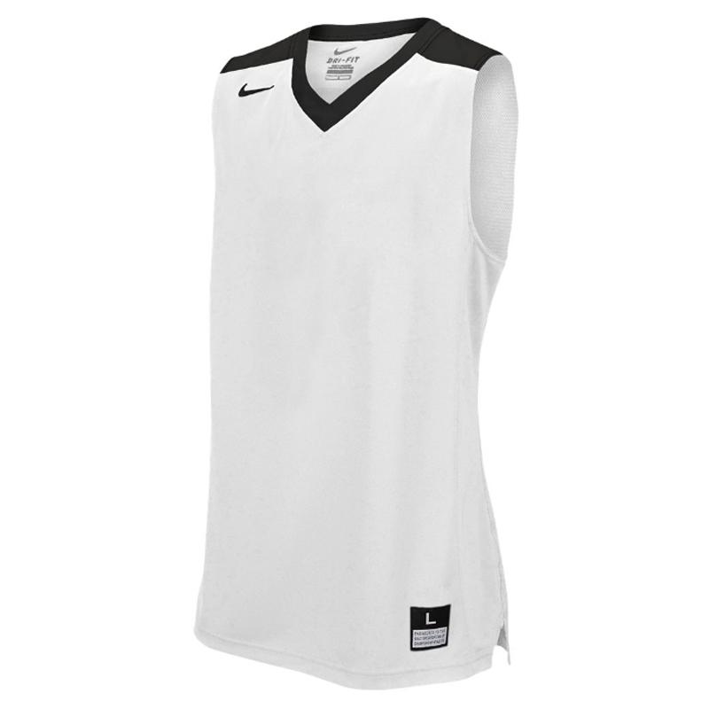 Nike Elite Franchise Jersey - Blanc & Noir