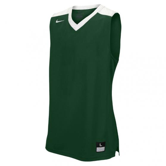 Nike Elite Franchise Jersey - Vert & Blanc