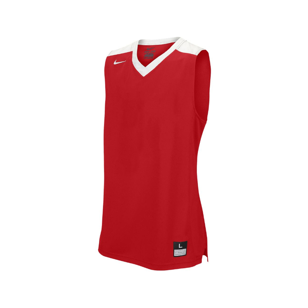 Nike Elite Franchise Jersey - Rouge & Blanc