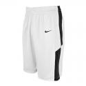 Nike Elite Franchise Short - Blanc & Noir