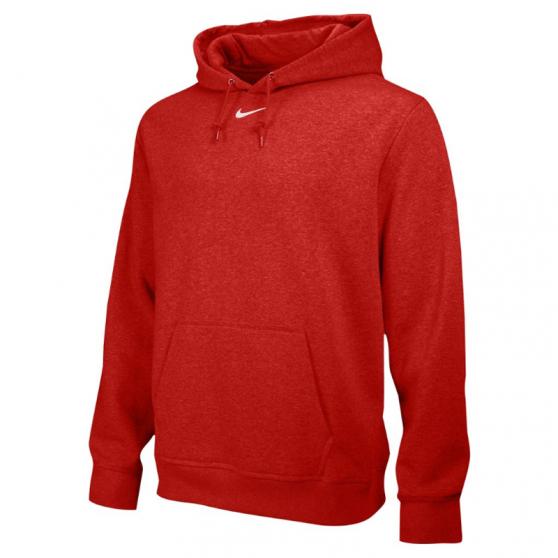 Nike Team Club Fleece Hoody - Rouge