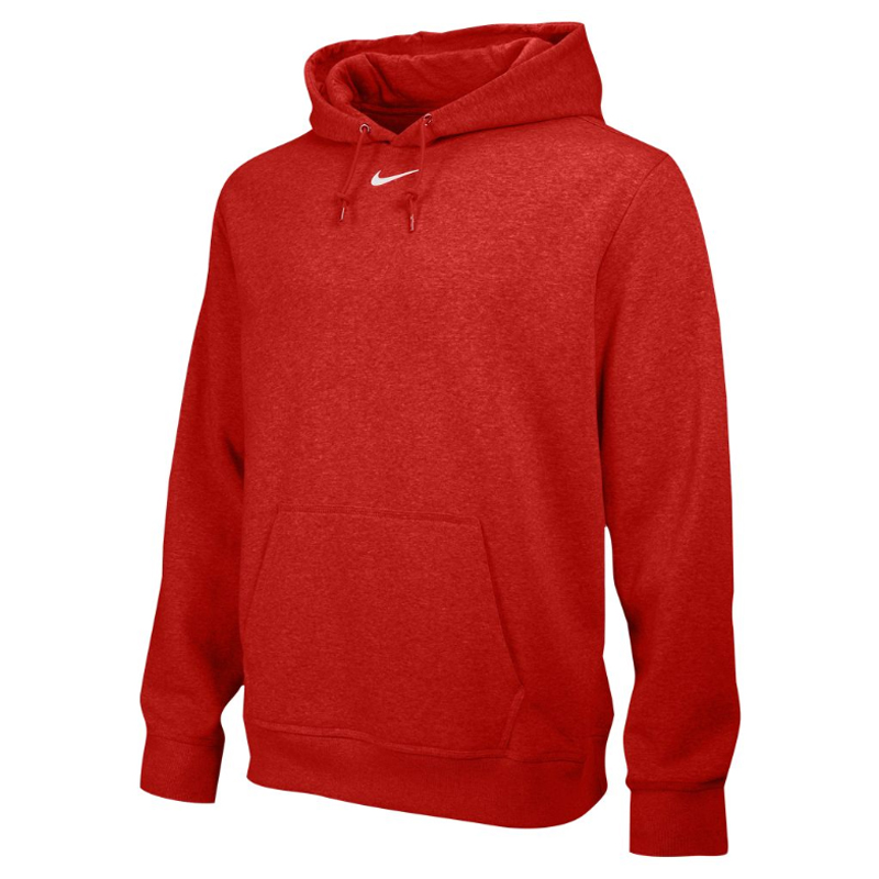 Nike Team Club Fleece Hoody - Rouge